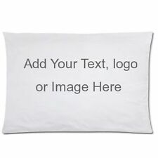 New Personalized Custom Rectangle Pillow Case 20x30 inch One Side Pillow Cover