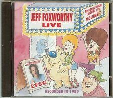JEFF FOXWORTHY - LIVE -  CD