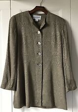 WOMENS JAEGER JACKET UK10 BUTTON UP PREPPY STYLISH GORGEOUS TOP FORMAL