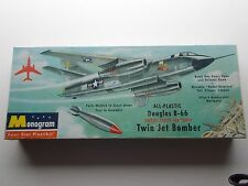 Vintage MONOGRAM Plastic Model Kit of a  DOUGLAS B-66 Twin Jet Bomber~Circa 50s