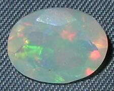 1.52ct STRONG FIRE Faceted Wello Ethiopian Opal SPECIAL