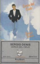 Sergio Denis Cerca Del Cielo Cassette New Sealed