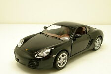 "Kinsmart Porsche Cayman S 1:34 scale 5"" diecast metal model car new Black K51"