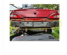 rear bumper supports Left + Right for peugeot 406 coupe