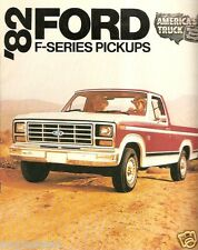Truck Brochure - Ford - F-series - Pickups - 1982 (TB371)