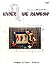 Under the Rainbow MEMORIES ARE FILLED WITH LOVE Cross Stitch Pattern UR 2013