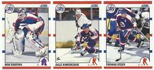 13 1990-91 SCORE HOCKEY WINNIPEG JETS CARDS (ESSENSA RC/HAWERCHUK+++)