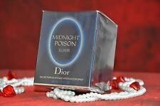 Midnight Poison Elixir  Christian Dior 30ml EDP,Discontinued, New in Box, Sealed