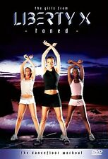 The Girls From Liberty X - Toned Michelle Heaton, Jessica Taylor, NEW UK R2 DVD