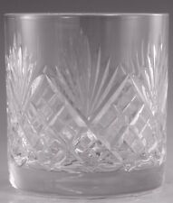 Royal DOULTON Crystal - WESTMINSTER Cut - Tumbler Glass / Glasses - 3 1/4""