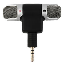 Portable Mini Mic Digital Stereo Microphone for Recorder PC Mobile Phone DG