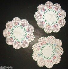 Vintage Hand Made Table Ware Cloths..