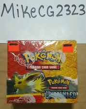 Pokemon HS Undaunted booster box, Factory Sealed! 36 packs! New and Mint Cards