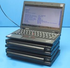 LOT OF 5 Lenovo ThinkPad X100E Laptop -Core 2 DUO .1.6GHz-4GB RAM-160GB HDD!