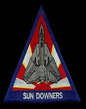 USN VF-111 Sun Downers F-14 Tomcat Patch KP