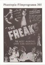 Phantopia Filmprogram Nr. 305 The Freaks