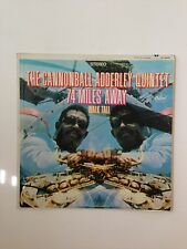 The Cannonball Adderley Quintet 74 Miles Away LP Capitol 2822 DAVID AXELROD jazz