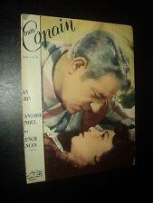 MON COPAIN 1955/39 (2/10/55) JEAN GABIN FRANCOISE ARNOUL GUITRY SINATRA G KELLY