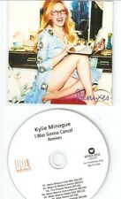 KYLIE MINOGUE -  I WAS GONNA CANCEL - 9 TRACK WARNERS OFFICIAL SWEDISH PROMO