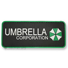 VINYL MORALE PATCH VELCRO PANEL RUBBER ZOMBIE UMBRELLA CORPORATION RESIDENT EVIL