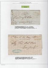 ANTICHI STATI 1858 TOSCANA STRADA FERRATA LEOPOLDA 2 LETTERE Z/1836