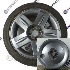 Renault clio ii PH2 01-06 alium roue alliage center hub cap (peint anthracite)