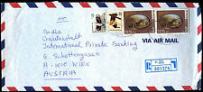 Israel 1999 Registered Commercial Cover To Austria #C39096
