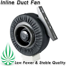 """INLINE CENTRIFUGAL EXHAUST DUCT FAN BLOWER 6"""" With METAL BLADE & LEATHER JACKET"""