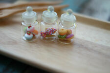 3 PCS. MINIATURES HANDMADE DOLLHOUSE FRUIT FOOD COLLECTIBLE CAKE BAKERY