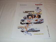 W/2/13/2 Modell Modellauto Katalog Prospekt Herpa Miniaturmodelle Brauerei 1997