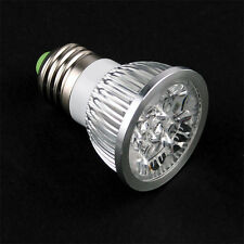 JDR E27 PURE WHITE 4 LED Light Bulb Lamp Spotlight 4W