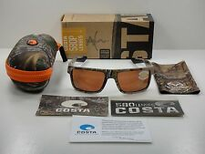 COSTA DEL MAR MOTU POLARIZED SUNGLASSES CAMO FRAME/COPPER 580P LENS MTU69 OCP