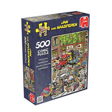 JUMBO 17465 JAN VAN HAASTEREN - SCOOTER SCRAMBLE 500PCS / JIGSAW BRAND NEW