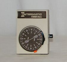 Intermatic Time-All Indoor Lamp / Appliance Electric Automatic Manual Timer D111