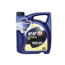 Motoröl ELF Sporti TXI 15W40, 5 Liter