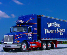 RARE DCP - West Bend Transit of WISCONSIN INTERNATIONAL 9100i Semi Truck - 30761