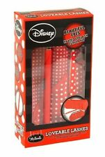 MINNIE LOVEABLE LASHES HEATED EYELASH CURLER, TWEEZERS, MAKE-UP BAG,EYE MASK SET