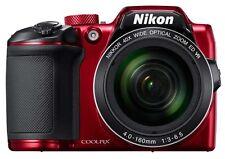 COOLPIX B500 Digital Camera w/ Wi-Fi: Red