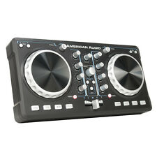 American Audio ELMC1 2 Channel Scratch Mixer + MIDI Mp3 Controller + Virtual Dj