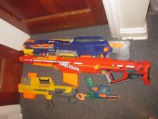 Lot of 4 Nerf Guns Centurion Mega Blaster CS-6 Longstrike