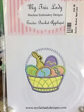 MY FAIR LADY-MACHINE EMBROIDERY CD- EASTER BASKET APPLIQUE DESIGNS
