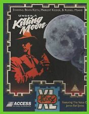 UNDER A KILLING MOON pc cd rom kixx SCATOLATO tex murphy graphic adventure