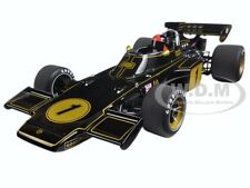 LOTUS 72E 1973 EMERSON FITTIPALDI #1 WITH FIGURE 1/18 MODEL CAR BY AUTOART 87328