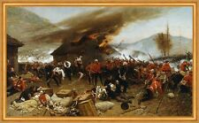The Defence of rorkes Drift Alphonse de Neuville bataille feu combat B a2 00436