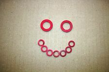 BSA BANTAM D10/ D14/ B175 CLUTCH COVER FIBRE WASHERS+ FILLER & DRAIN SCREW!-C106
