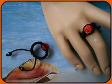 BAGUE SHAMBALLA ORANGE