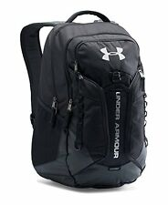 NEW Under Armour Contender Backpack Black/Black/Silver