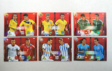 CHILE CILE 2015 Figurine/Stickers CARD - serie completa 6 cards DOUBLE TROUBLE