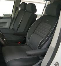 MAß Sitzbezüge Schonbezüge für VW T5 Transporter Fahrer & Doppelbank