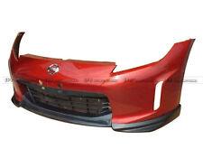 ACE 3Pcs Front Bumper Lip For Nissan Z34 370Z Kouki Late Model JDM FRP Body Kits